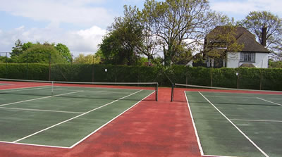 Thame Hedge Trimming at Tennis Club